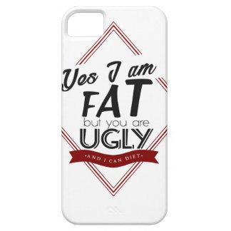 Ik ben Vet u ben Lelijk Barely There iPhone 5 Hoesje