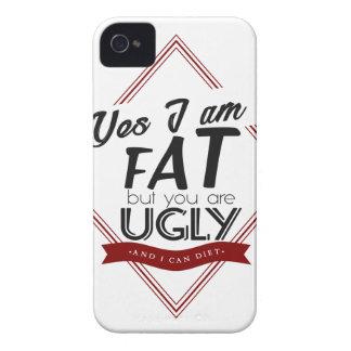 Ik ben Vet u ben Lelijk iPhone 4 Hoesje