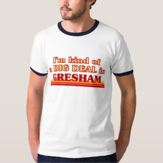 Ik ben vriendelijk van een GROTE OVEREENKOMST in T Shirt