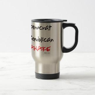 Ik ben Wakker. Niet Democraat of Republikein Reisbeker