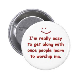 Ik ben werkelijk gemakkelijk om te krijgen samen m ronde button 5,7 cm