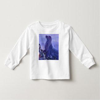 Ik ben zeeleeuw, hoor me gebrul! kinder shirts