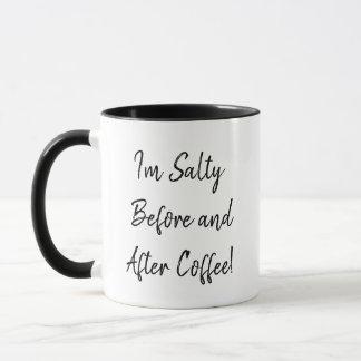 Ik ben Zout Before and After de mok van de Koffie