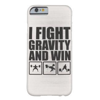 Ik bestrijd Ernst en win - het Opheffen Motivatie Barely There iPhone 6 Hoesje
