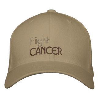 Ik bestrijd kanker geborduurd pet geborduurde pet