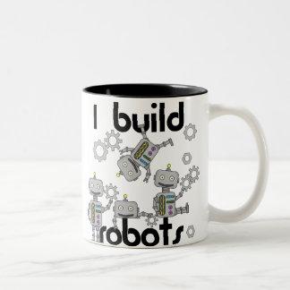 Ik bouw Robots Tweekleurige Koffiemok