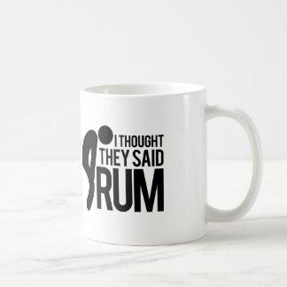 Ik dacht zij RUM zeiden Koffiemok