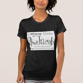 Ik draag Grijs voor Jacob T Shirt