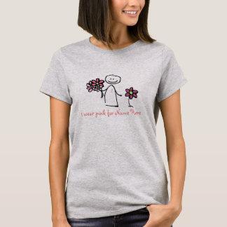 Ik draag Roze voor het Overhemd van de T Shirt