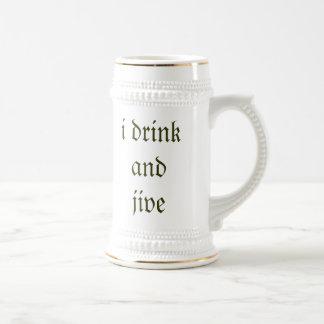 ik drink en jive bierpul