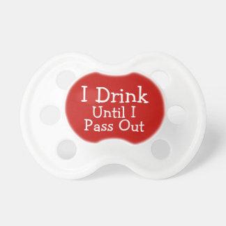 Ik drink tot ik uit - Grappig overga Speentjes
