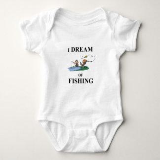 Ik droom van Visserij Romper