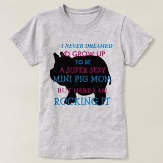 Ik droomde nooit ik om zou groeien te zijn, t shirt