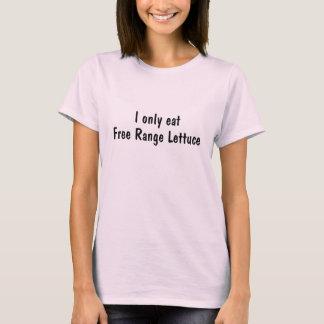 Ik eet slechts de Vrije Sla van de Waaier T Shirt