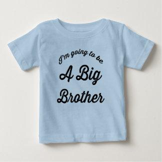 Ik ga een Grote Broer zijn Baby T Shirts