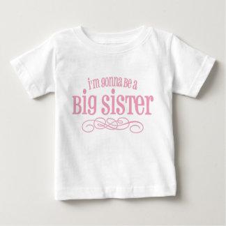 Ik ga een Grote Zuster zijn Baby T Shirts