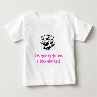 Ik ga een GROTE zustert-shirt zijn Baby T Shirts