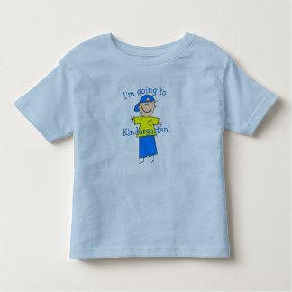 """""""Ik ga naar Kleuterschool """" Kinder Shirts"""