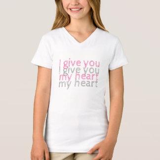 Ik geef u mijn hart Lm T Shirt
