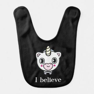 Ik geloof de Slab van het Baby van Emoji van de Baby Slabbetje