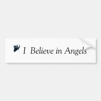 Ik geloof in de sticker van de Bumper van Engelen
