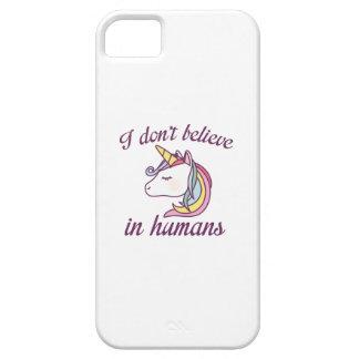 Ik geloof niet in Mensen Barely There iPhone 5 Hoesje