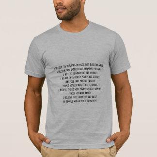 Ik geloof: t shirt