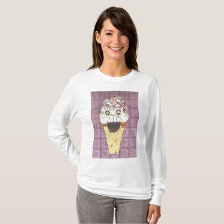 Ik gil de Verbindingsdraad van Vrouwen T Shirt