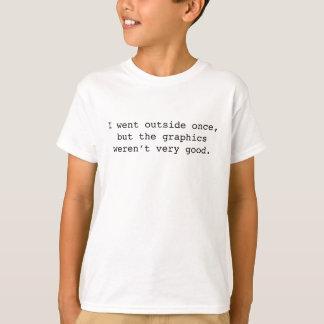 Ik ging eens Buitenkant T Shirt