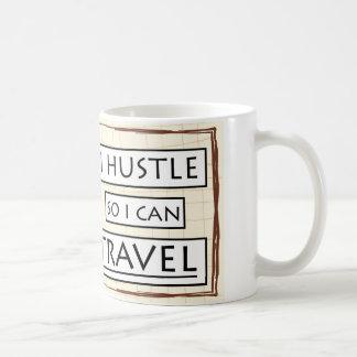 ik gooi door elkaar zodat kan ik reizen koffiemok