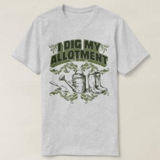 Ik graaf Mijn het Tuinieren van de Toewijzing T Shirt