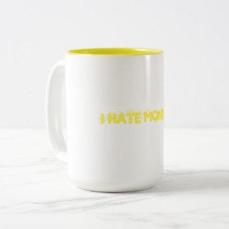 Ik haat Maandagen Tweekleurige Koffiemok