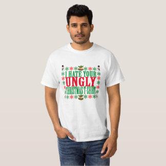 Ik haat uw lelijke t-shirt van Kerstmis.