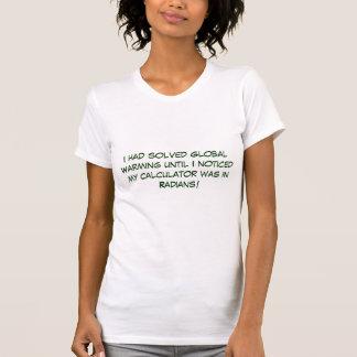 Ik had het Globale Verwarmen tot… - Aangepast T Shirt