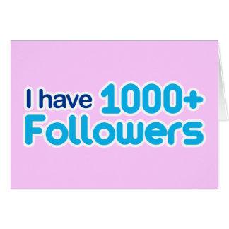 Ik heb 1000+ Aanhangers Kaart