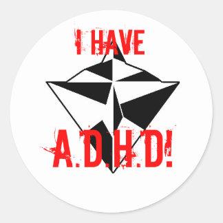 IK HEB, A.D.H.D! sticker