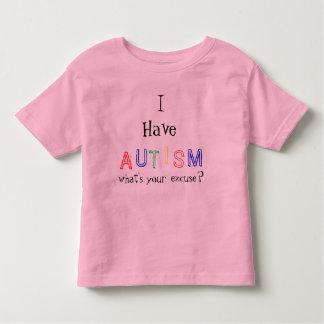 Ik heb autisme kinder shirts