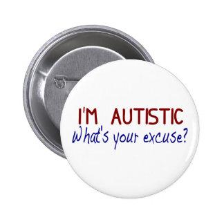 Ik heb Autisme Ronde Button 5,7 Cm
