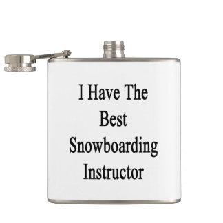 Ik heb de Beste Instructeur Snowboarding Heupfles