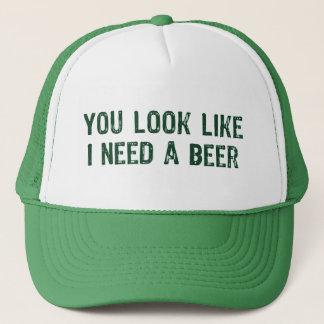 Ik heb een Bier nodig Trucker Pet