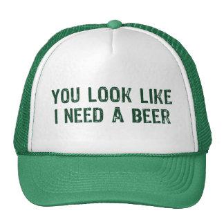 Ik heb een Bier nodig Trucker Petten