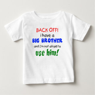 Ik heb een grote broer baby t-shirt