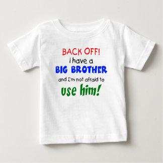 Ik heb een grote broer baby t shirts