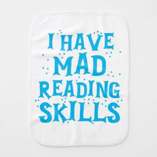 ik heb gekke lezingsvaardigheden monddoekje