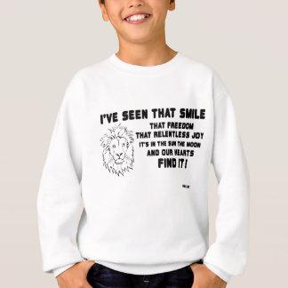 Ik heb gezien dat glimlach groot citaat trui