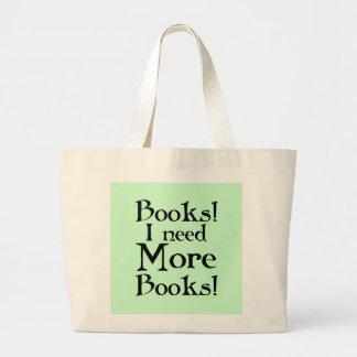Ik heb Meer Canvas tas van het Boek van de