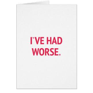 Ik heb Slechter Grappig Valentijn gehad Wenskaart