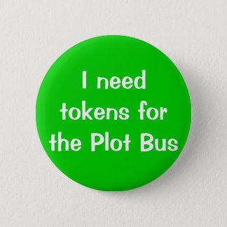 Ik heb tekenen voor de Bus van het Perceel nodig Ronde Button 5,7 Cm