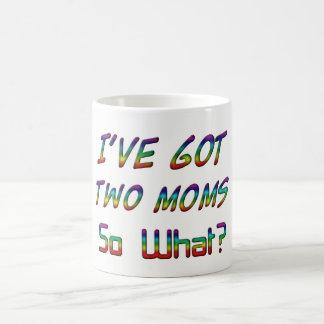 Ik heb twee mamma's, zo wat? De Typografie LGBT Koffiemok