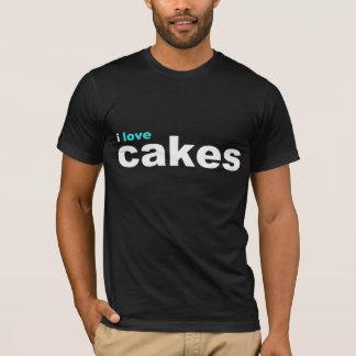 ik houd cakes van aqua t shirt